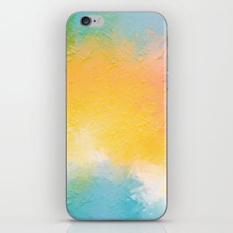 Modern Multi Color Abstract iPhone Skin