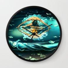 GEMINI from the Dancing Zodiac Wall Clock
