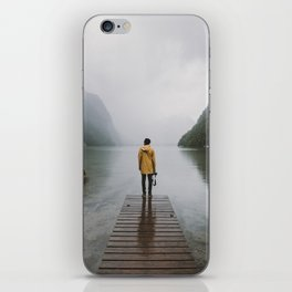 Mountain Lake Vibes - Landscape Photography iPhone Skin