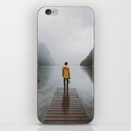 Mountain Lake Vibes - Landscape Photography iPhone Skin
