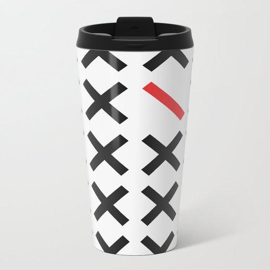 Minimalism 3 Metal Travel Mug