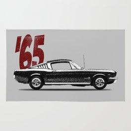 Mustang Fastback. Rug