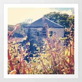 Hidden House. Art Print