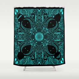 Tentacle void Shower Curtain