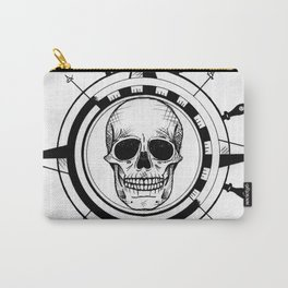 Skull Compass Carry-All Pouch