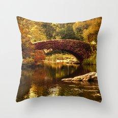 The Gapstow Bridge Throw Pillow