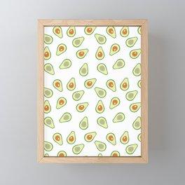 AVOCADO AVOCADOS FOOD PATTERN Framed Mini Art Print