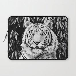 Endangered White Tiger Laptop Sleeve