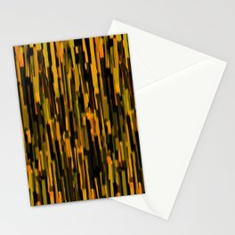 vertical brush orange version Stationery Cards