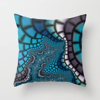 egyptian Throw Pillows featuring Egyptian Goddess by Christy Leigh