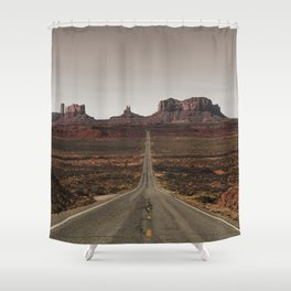Run Forrest Shower Curtain