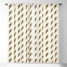 Laughing Kookaburra | Pattern Blackout Curtain