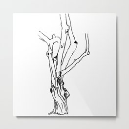 unfinished tree Metal Print