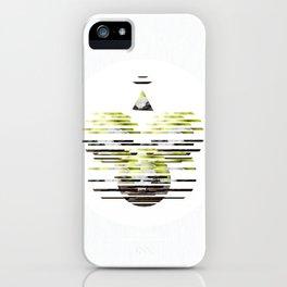 Sliced Deer Skull  iPhone Case