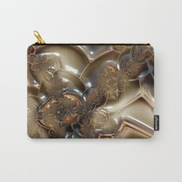 Cameo Cream Carry-All Pouch