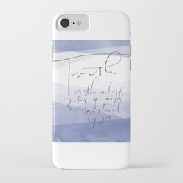 Truth - Elizabeth Cady Stanton iPhone Case