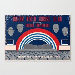 Buena Vista Social Club at the Hollywood Bowl Canvas Print