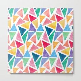 Pattern Colorful Metal Print