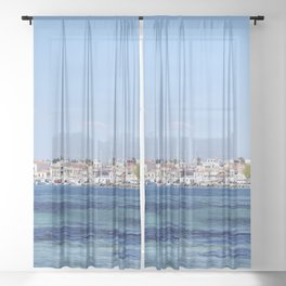 Aegina Views Sheer Curtain
