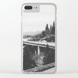 ON THE ROAD XXII / North Carolina Clear iPhone Case