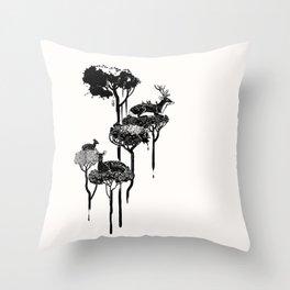 Deer to Dream Throw Pillow