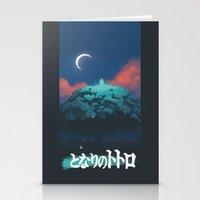 ghibli Stationery Cards featuring Ghibli print    by pHoran
