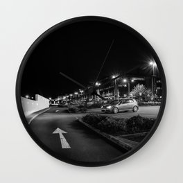 VW R32 mk5 at Night Wall Clock