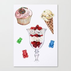 Sweet tooth Canvas Print