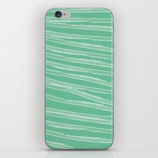 Pastel Green iPhone & iPod Skin