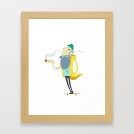 Street Sailor Framed Art Print