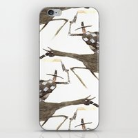 cowboy iPhone & iPod Skins featuring Cowboy by Peerro