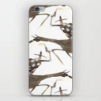 cowboy bebop iPhone & iPod Skins featuring Cowboy by Peerro