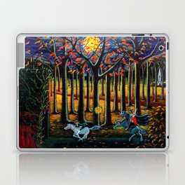 Halloween art The Headless Horseman of Hudson Valley Laptop & iPad Skin