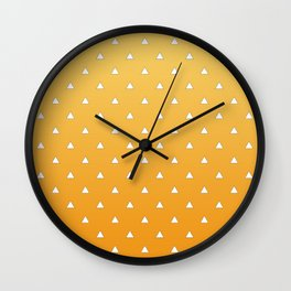 Zenitsu Pattern Wall Clock