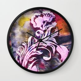 Safuli's Flower Wall Clock