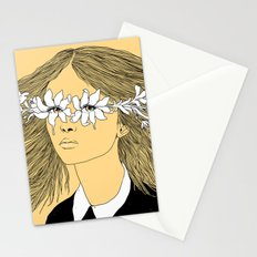 Flowers in My Eyes (Life in a Glimpse) Stationery Cards