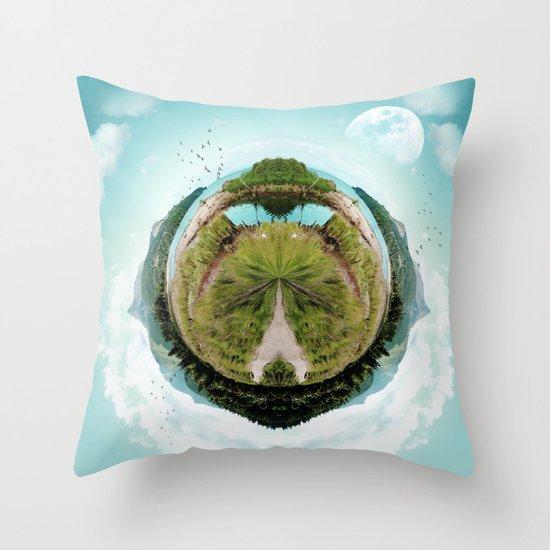 Nano Isle Throw Pillow