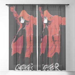 CYPHER Sheer Curtain