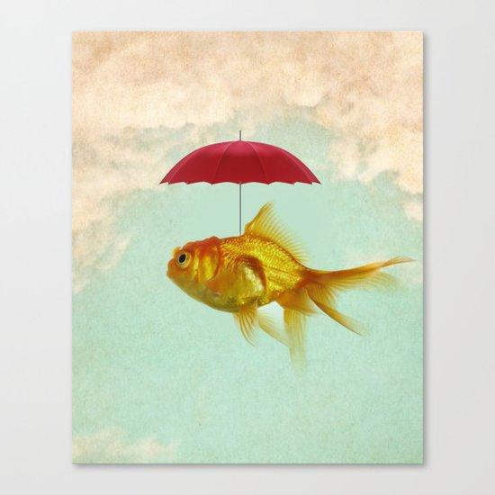 under cover goldfish 02 Canvas Print