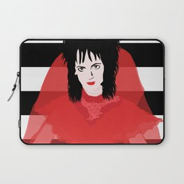 Lydia in Red Laptop Sleeve