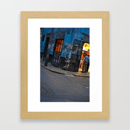 Traveling the Streets of Lima, Peru Framed Art Print