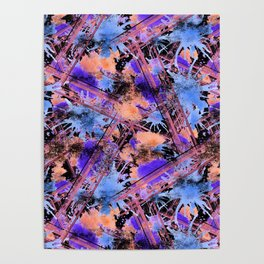 Abstract pattern. Poster