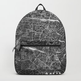 Munich, Germany street map Backpack