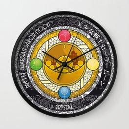 Sailor Moon - Crystal Transformation Brooch Wall Clock