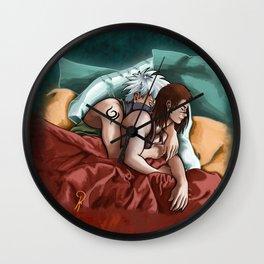 Kakashi and Iruka Love Wall Clock