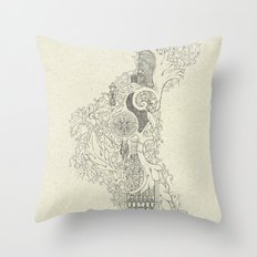 The Fertile Land in One's Imagination Throw Pillow