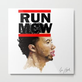 RUN MCW Metal Print