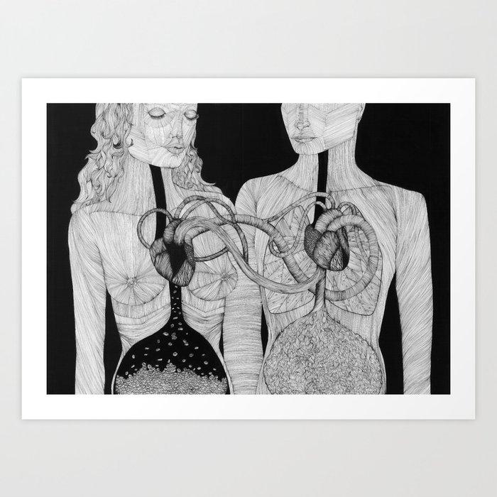Höra ihop Art Print
