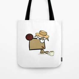 "Dialog with the dog N52 - ""Detective"" Tote Bag"