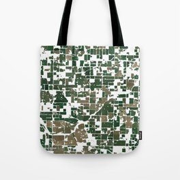 Suburban Neighborhood of California Tote Bag
